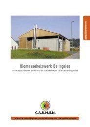 Biomasseheizwerk Beilngries - MR Sulz-Altmühl Gewerbe GmbH