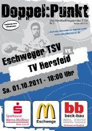 Infos unter www.handball2000.de - Eschweger TSV Handball