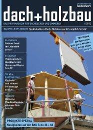 BAUSTELLE DES MONATS Spektakuläres Dach: Holzbau macht's ...