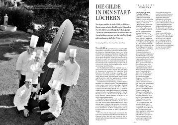 Die GilDe in Den Start- löchern - Hotel & Gastro Union