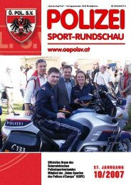 Polizei - Österreichischer Polizeisportverband