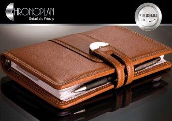 Chronoplan-Katalog - 2012 Erich Stichel MA