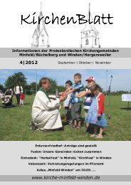 KirchenBlatt 4/2012 (September|Oktober|November) - Evangelische ...