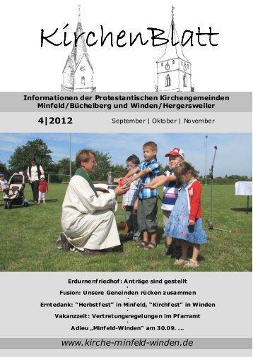 KirchenBlatt 4/2012 (September|Oktober|November) - Evangelische ...