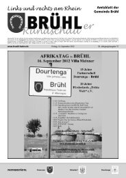 Bruehl gesamt kw 37 - Gemeinde Brühl