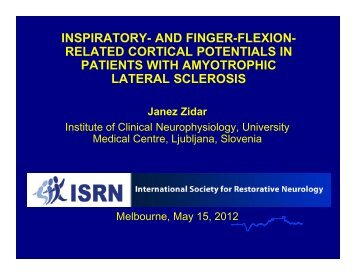 inspiratory- and finger-flexion - Restorative Neurology