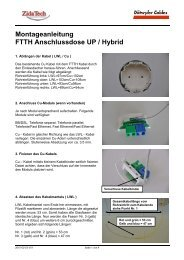 Montageanleitung Hybrid Dose 2010-02-03 V01