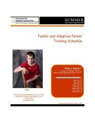 FAK Summer 2012 - The Ohio Child Welfare Training Program