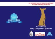 FCI Centenary World Champion of Champions Brussels - VDH