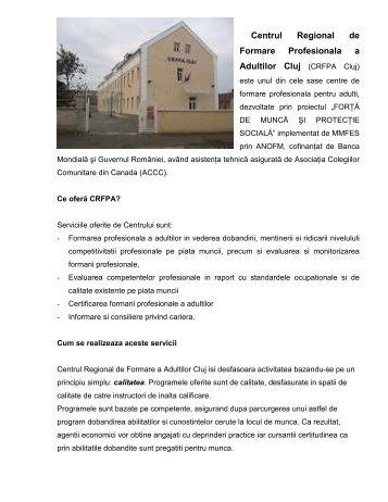 CRFPA Cluj - ANOFM