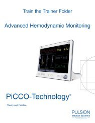 PiCCO-Technology® - PULSION Medical Systems SE