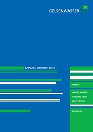 Annual Report 2010 (PDF, 825 KB - Gelsenwasser AG