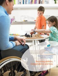 Restoring abilities, independence and lives - Allina Health
