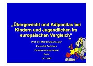 """""""Übergewicht und Adipositas bei Kindern und Jugendlichen im ..."""