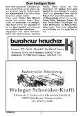 """Gasthof – Pension zur """" Alten Brauerei """" Niederweiler - SV Weilertal - Page 2"""