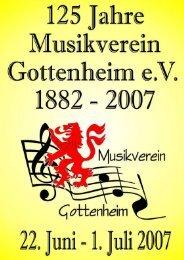Festschrift 125 Jahre - Gottenheim