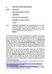 Friedrich II. von Preußen - Informationsmittel für Bibliotheken