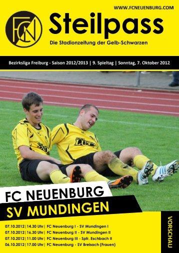 unser heutiger gegner - sv mundingen - FC Neuenburg