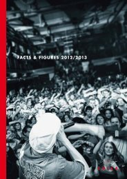 fActS & fIgUreS 2012/2013 - Suisa