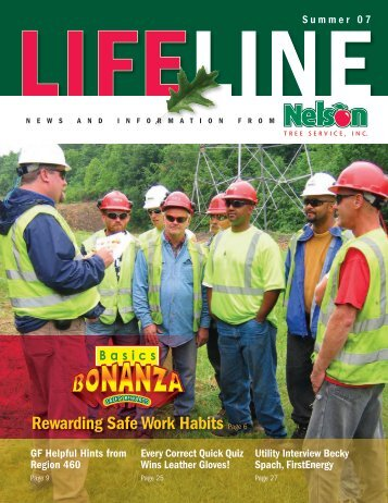 Rewarding Safe Work Habits Page 6 - Nelson Tree Service