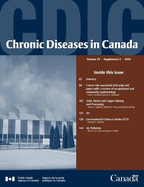 Chronic Diseases in Canada - Agence de la sante publique du ...