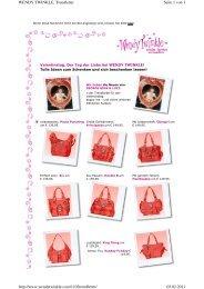 Seite 1 von 3 WENDY TWINKLE, Trendletter 02.02.2011 http://www ...