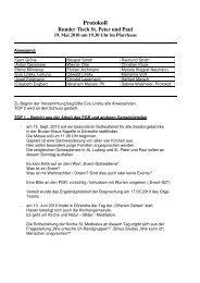 Protokoll Runder Tisch St. Peter und Paul - Katholische ...