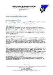 Zeltverleih AGB (pdf) - THW OV Geldern