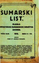 ÅUMARSKI LIST 9-10/1919