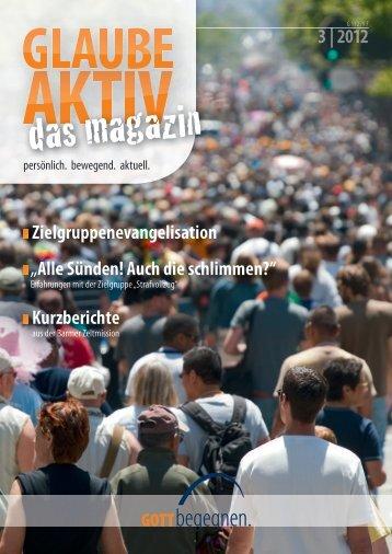 Glaube aktiv 3|2012 - Barmer Zeltmission