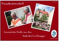 Freundeskreisheft - Kinder- und Jugenddorf Marienpflege Ellwangen