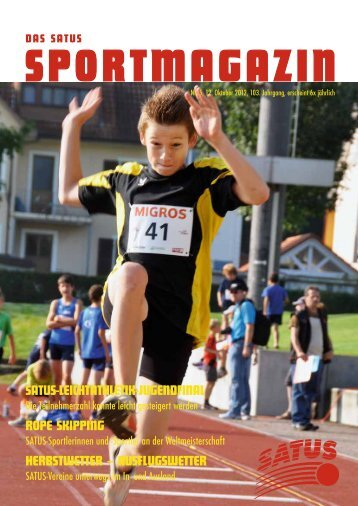 jugendsport - SATUS - der Sportverband