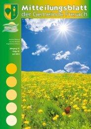 Jahrgang 31 Folge 01 Juli 2012 - Gemeinde Fresach