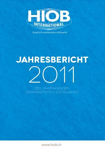 Jahresbericht - HIOB International