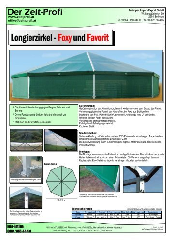 Aufbauanleitung Favorit Iii Dwt Zelte