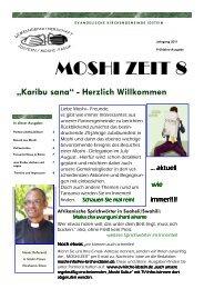 MOSHI ZEIT 8 - Evangelische Kirchengemeinde Idstein