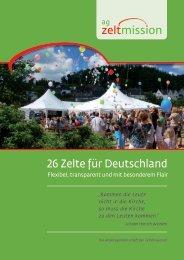 6 Zelte für Deutschland