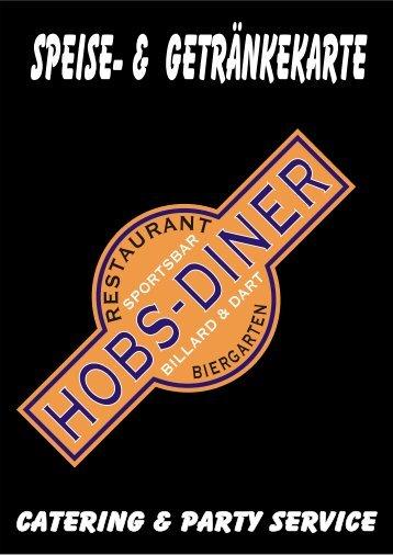 Zur Speisekarte - Hobs-Diner