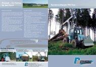 Systemschlepper PM-Trac Pfanzelt - Pfanzelt Maschinenbau