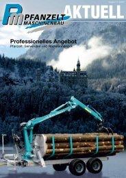 Professionelles Angebot - Pfanzelt Maschinenbau