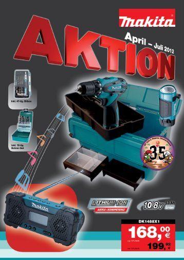 Makita Aktion April-Juli 2012 - Wewo