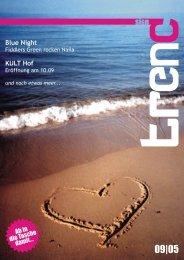 Ab in s dieTache damit... Blue Night KULT Hof - Pocketmagazin ...