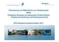 Vortrag 3 Finanzierung von Maßnahmen zur Umsetzung der