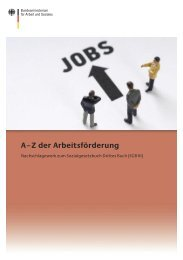 Z der Arbeitsförderung - Bundesministerium für Arbeit und Soziales