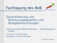 PDF-Datei, 107 kb - GBM – Gestaltung der Betreuung von ...
