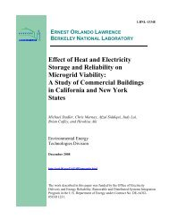 Effect of Heat and Electricity Storage and Reliability - Clark Science ...