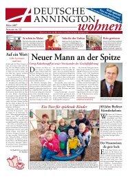 Neuer Mann an der Spitze - Deutsche Annington