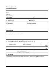 Verwendungsnachweis Zuwendungsempfänger Name Anschrif - BiBB