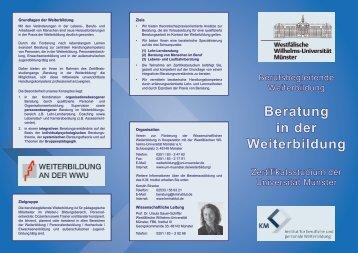 Beratung in der Weiterbildung - KM Institut für berufliche und ...