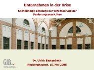 Sassenbach I